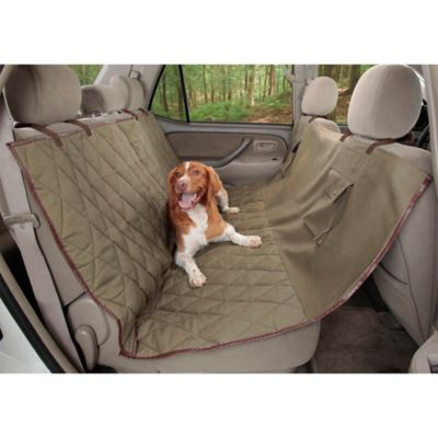 Deluxe Extra Wide Pet Hammock Seat Cover for Dogs