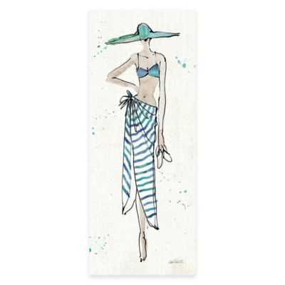 Beach Diva III Wall Art