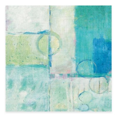 Blue Water I 18-Inch x 18-Inch Wall Art