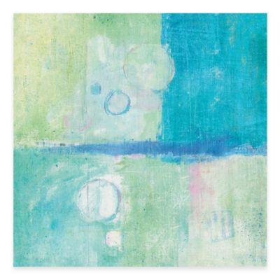 Blue Water II 18-Inch x 18-Inch Wall Art