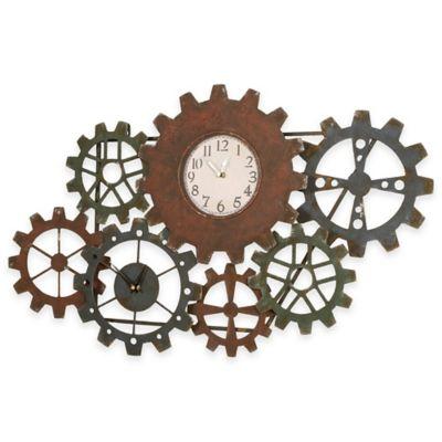 31-Inch x 19-Inch Interlocking Wall Clock