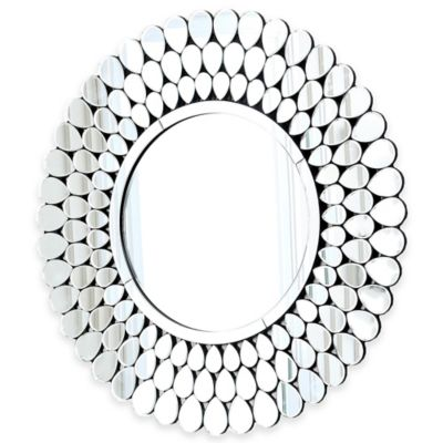 Abbyson Living® 39.5-Inch Radiance Wall Mirror