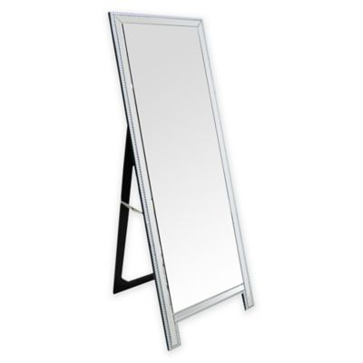Abbyson Living® Venice Studded Floor Mirror