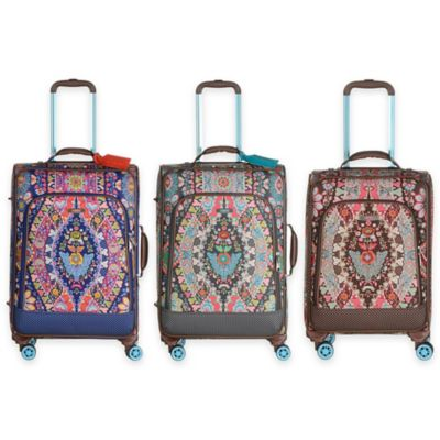 Oilily® Travel Expandable 26-Inch Softshell Trolley Suitcase in Brown