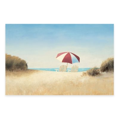 Morning Beach I 35-Inch x 23-Inch Wall Art