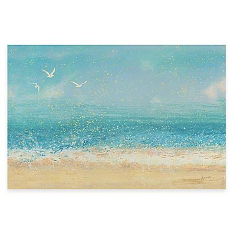 Splatter Beach I Wall Art Bed Bath Amp Beyond