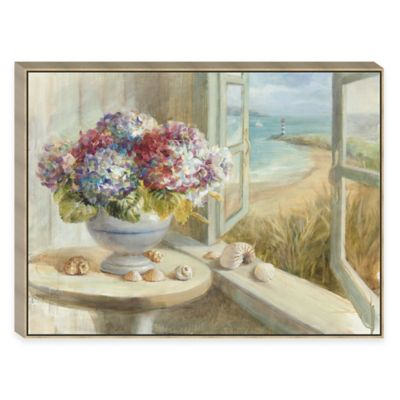 Coastal Hydrangeas Wall Art