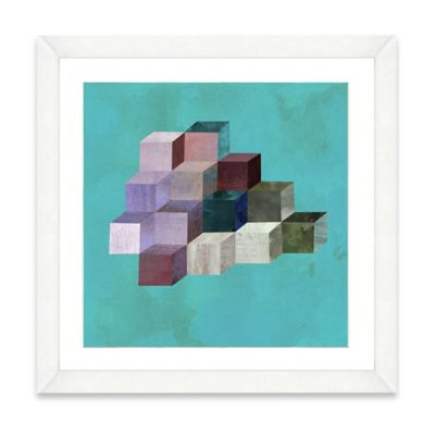 Watercolor Blocks II Framed Art Print