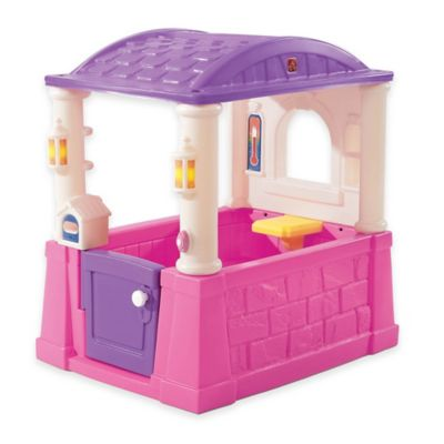 Step2® Four Seasons Playhouse in Pink/Purple