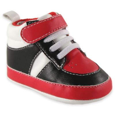 Black/Red Boys' Shoes