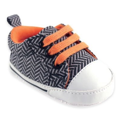 BabyVision® Luvable Friends™ Size 0-6M Basic Canvas Sneaker in Herringbone