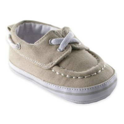 Boys' Shoes > BabyVision® Luvable Friends™ Size 0-6M Slip-On Shoe in Beige