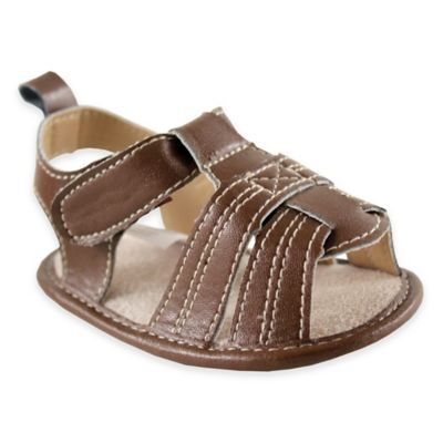 BabyVision® Luvable Friends™ Size 0-6M Casual Sandal in Brown