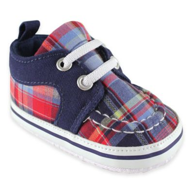 Blue Plaid Sneaker