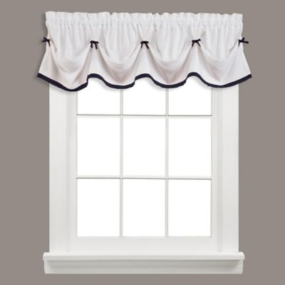 Kate Window Valance in Berry
