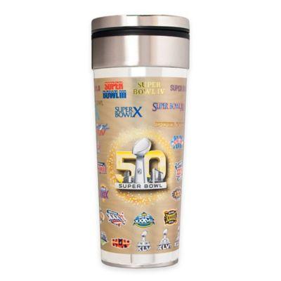NFL Super Bowl 50 Stainless Steel 22 oz. Travel Tumbler