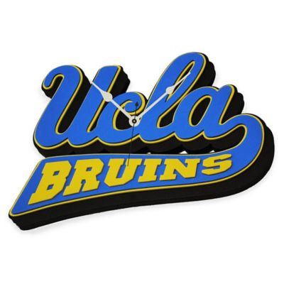 UCLA Bruins 3D Foam Wall Clock