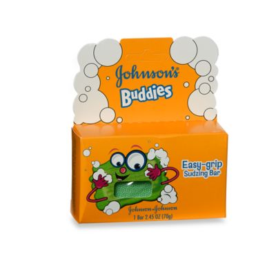 Johnson's® Buddies™ Easy-Grip Sudzing Bar