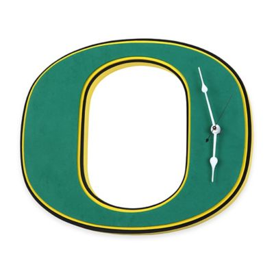 University of Oregon Ducks 3D Foam Wall Clock