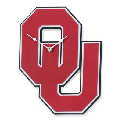 University of Oklahoma Sooners 3D Foam Wall Clock