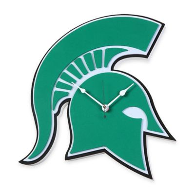 Michigan State University Spartans 3D Foam Wall Clock
