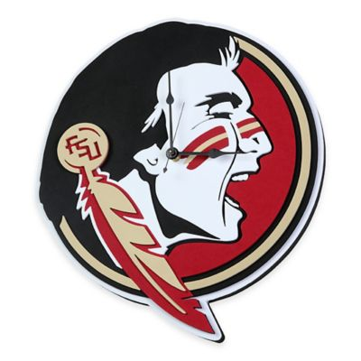 Florida State University Seminoles 3D Foam Wall Clock
