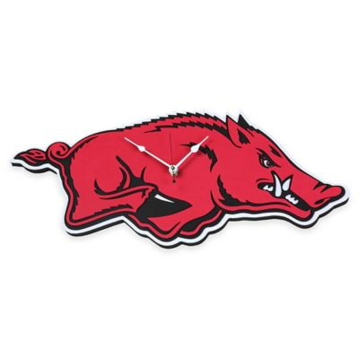 University of Arkansas Razorbacks 3D Foam Wall Clock
