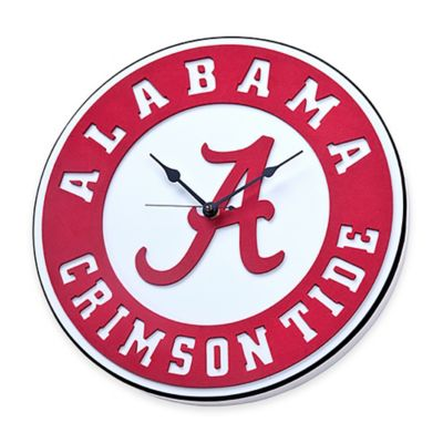 University of Alabama Crimson Tide 3D Foam Wall Clock