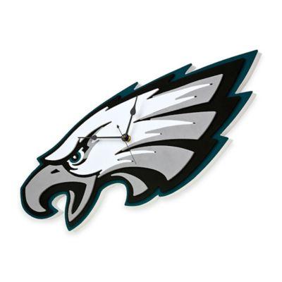 NFL Philadelphia Eagles 3D Foam Wall Clock