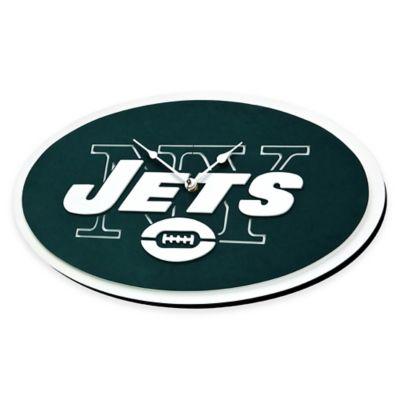 NFL New York Jets 3D Foam Wall Clock