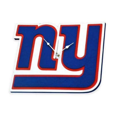NFL New York Giants 3D Foam Wall Clock