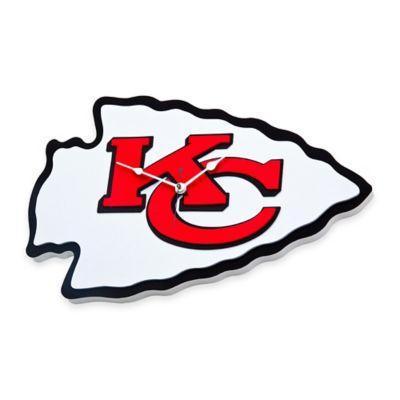 NFL Kansas City Chiefs 3D Foam Wall Clock