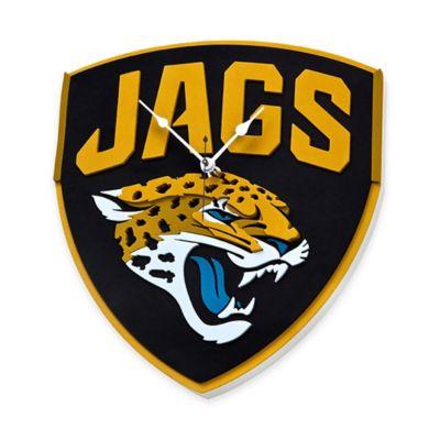 NFL Jacksonville Jaguars 3D Foam Wall Clock