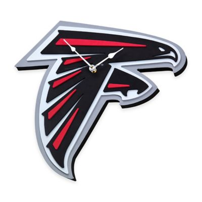 NFL Atlanta Falcons 3D Foam Wall Clock