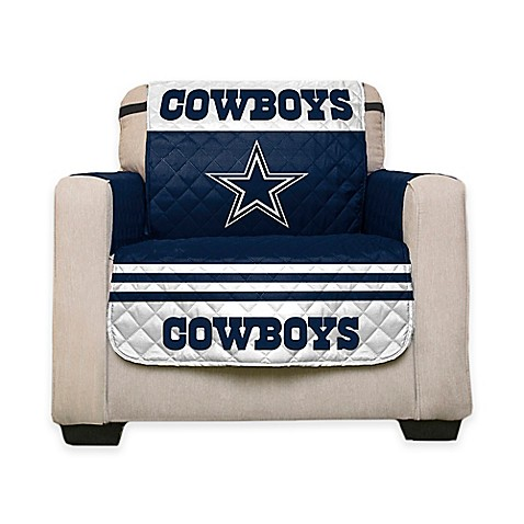 Nfl dallas cowboys chair cover wwwbedbathandbeyondcom for Nfl furniture covers
