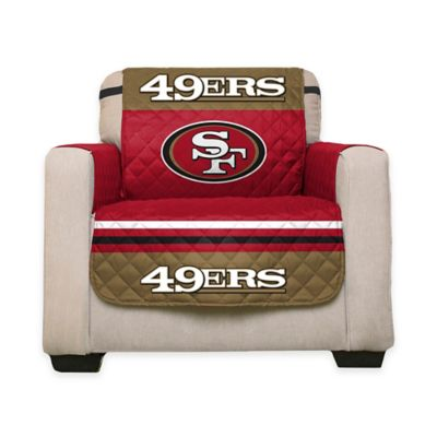 Buy microfiber chair covers from bed bath beyond for Nfl furniture covers