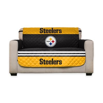 NFL Pittsburgh Steelers Love Seat Cover