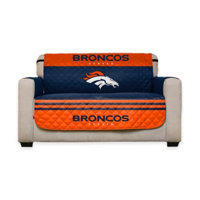 NFL Denver Broncos Love Seat Cover