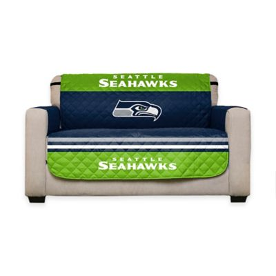 NFL Seattle Seahawks Love Seat Cover