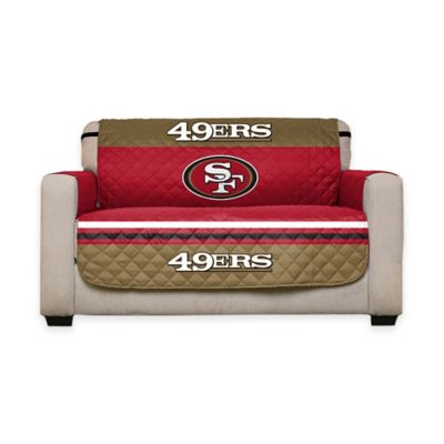 NFL San Francisco 49ers Love Seat Cover