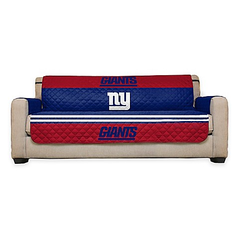 buy nfl new york giants sofa cover from bed bath beyond With nfl furniture covers