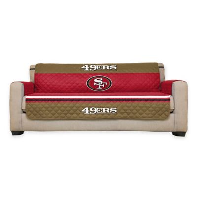 Buy sofa seat covers from bed bath beyond for Nfl furniture covers