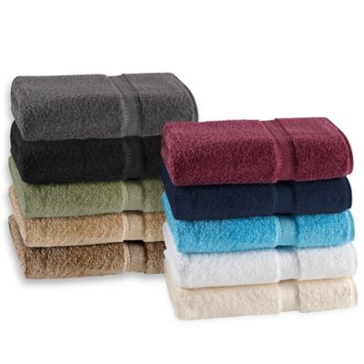 White Solid Bath Towels