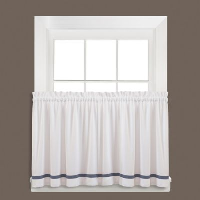 Kate 24-Inch Window Curtain Tier Pair in Blue
