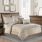 Dansville 8-Piece King Comforter Set in Taupe