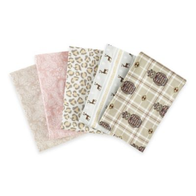 Micro Flannel® Leopard Queen Sheet Set