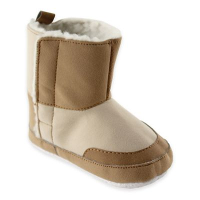 Baby Vision® Luvable Friends® Size 0-6M Faux Suede Boots in Tan