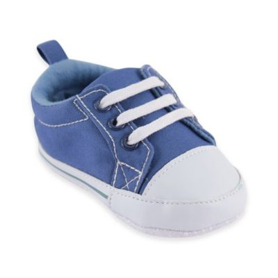 Baby Vision® Luvable Friends™Size 6-12M Basic Canvas Sneaker in Blue