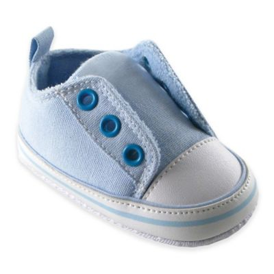 BabyVision® Luvable Friends™ Size 12-18M Laceless Sneaker in Blue