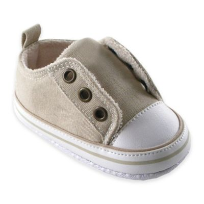 BabyVision® Luvable Friends™ Size 12-18M Laceless Sneaker in Beige